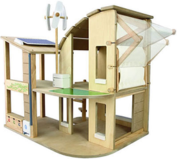 Plan Toys Green Dolls House