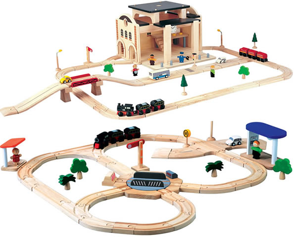plan toys train set