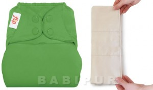 Organic Flip nappy
