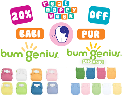 20% Off bumGenius at Babi Pur