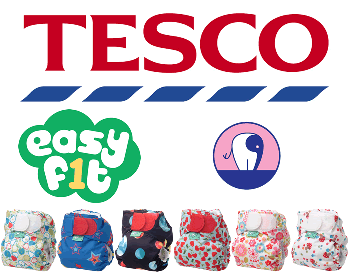Tesco & Easyfit Nappies