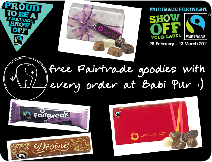 Fairtrade Chocolate for free