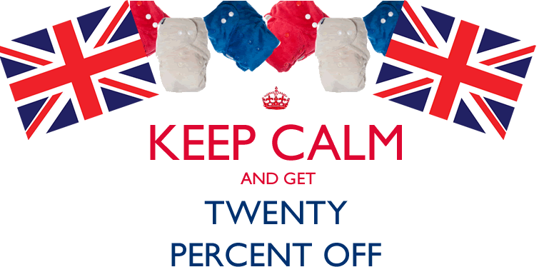 20% off Tutto nappies