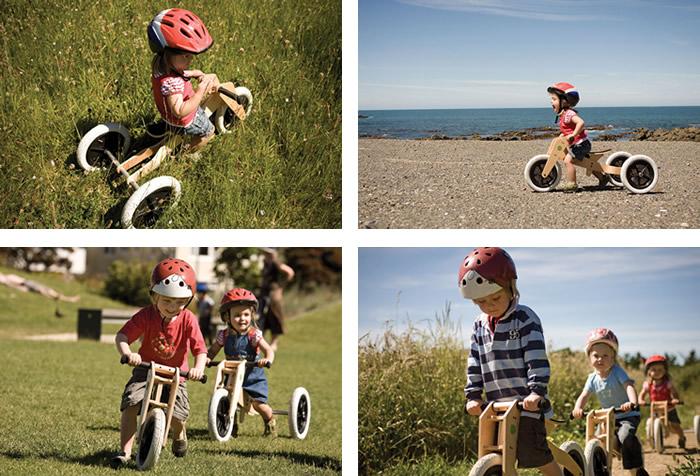 Wishbone bikes ride