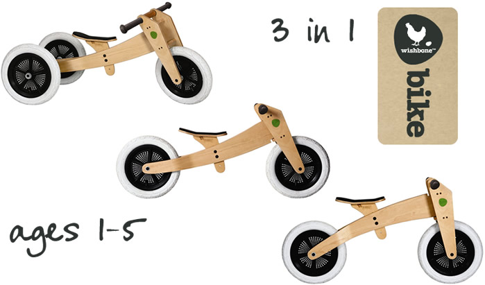 Wishbone 3 bikes in 1