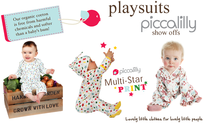 Piccalilly Playsuits