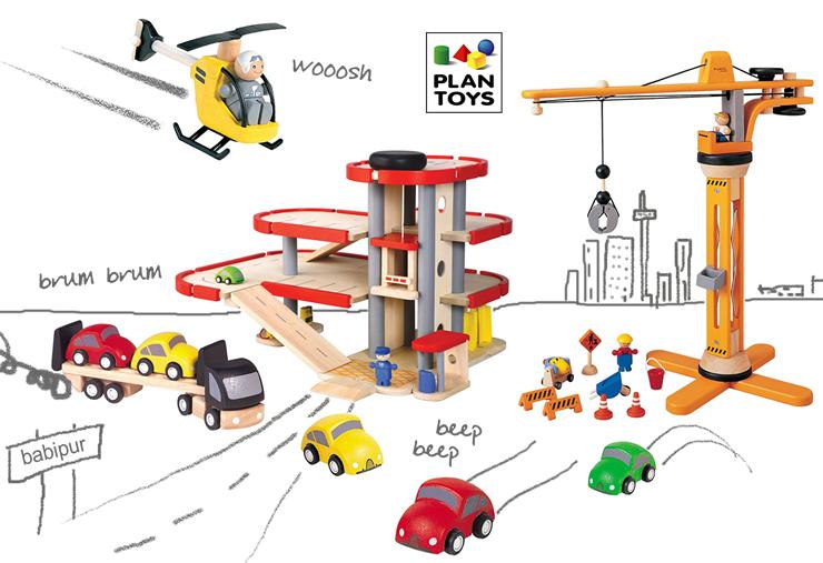 Plan Toys Garage & City Range