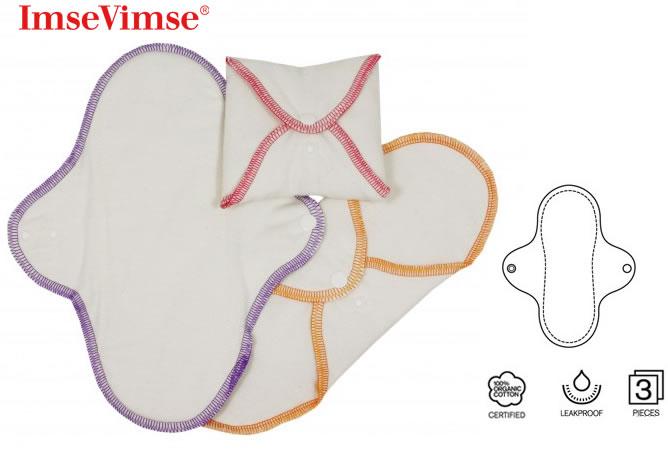 Organic cotton  reusable sanitary pads review