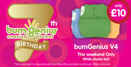 bumGenius for a tenner