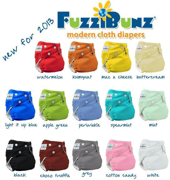 fuzzibunz new 2013