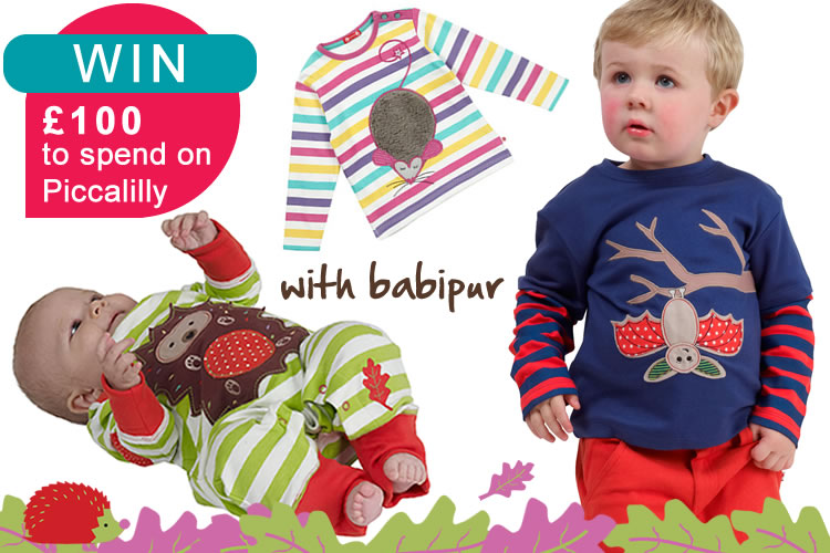 piccalilly autumn 13 WIN £100 to spend on Piccalilly at Babipur