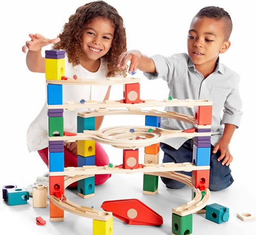 quadrilla marble runs Haba & Quadrilla Marble Runs at Babi Pur