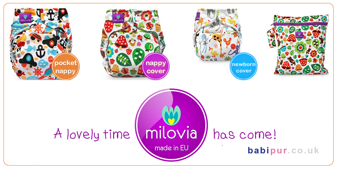 Milovia Cloth Nappies