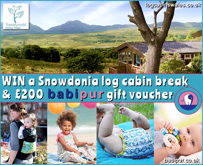 blog size Win a Snowdonia Log Cabin Break AND £200 Babi Pur Vouchers!
