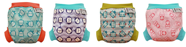 new colours.fw  Close Pop in Swim Nappy Review