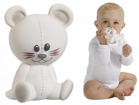Josephine the Mouse t Wooden Clutching Toys for Babies