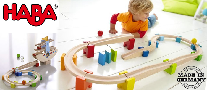 Haba my first ball track Haba My First Ball Track   Wooden Marble Runs