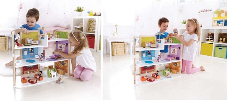 Hape DIY Dolls House Hape Dolls Houses