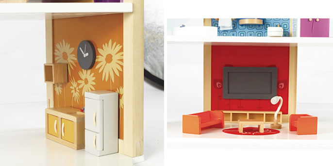Happe DIY 2 Hape Dolls Houses