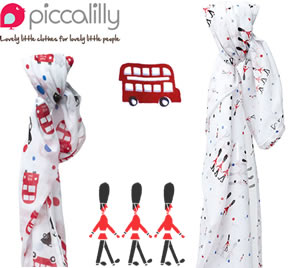 Picalilly London Muslins t Organic Muslin Swaddles