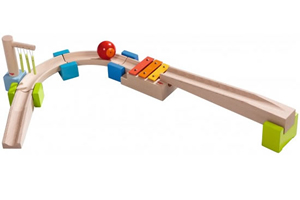 basic track sounds Haba My First Ball Track   Wooden Marble Runs
