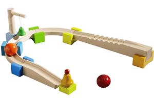 chatter track Haba My First Ball Track   Wooden Marble Runs