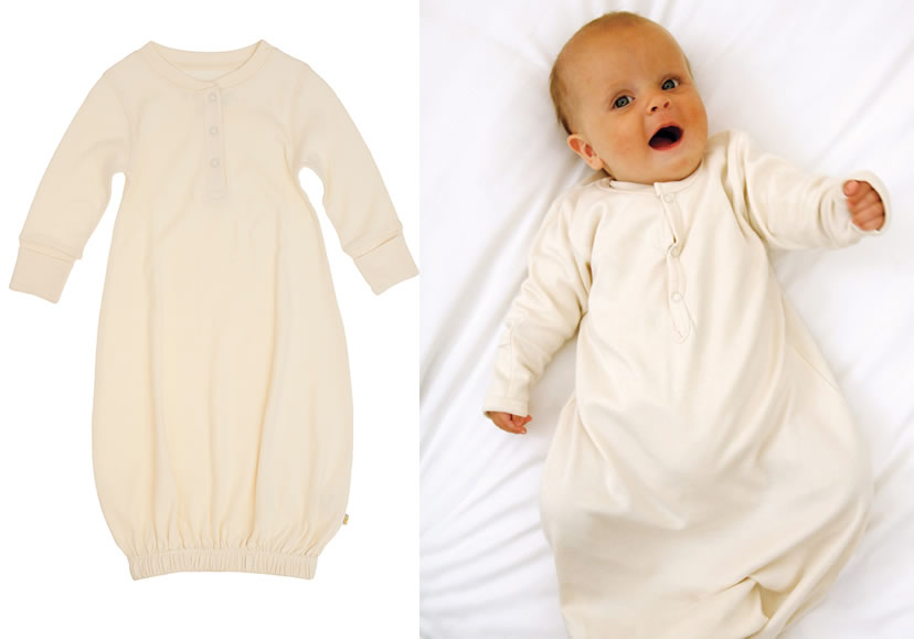 frugi organic night gown Organic Baby Nightgowns at Babi Pur