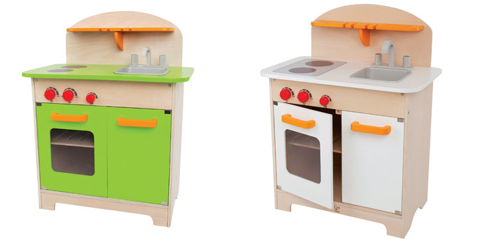 gourmet kitchen.fw  Hape Wooden Toy Kitchens