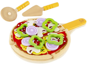 home made pizza t Hape Wooden Toy Kitchens