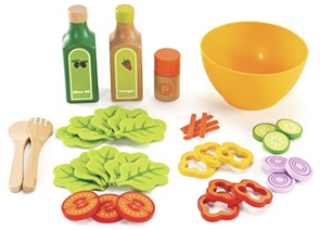 salad play food t Hape Wooden Toy Kitchens