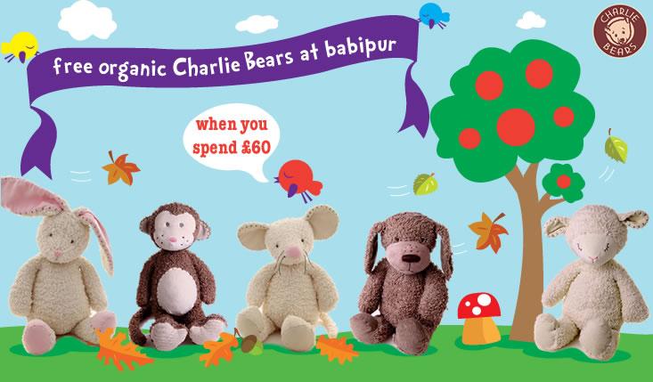 Charlie bears organic