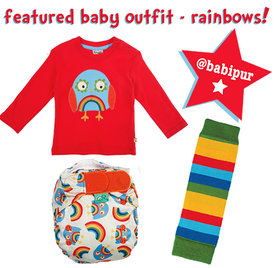 Unisex organic baby outfit
