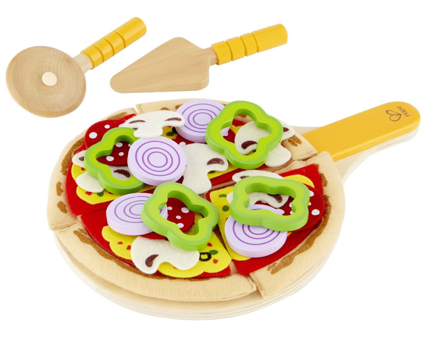 homemade pizza Wooden Play Food
