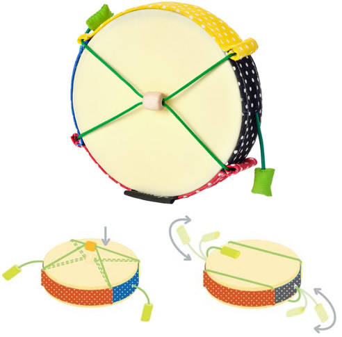 plan toys tot drum Musical Instruments for Children