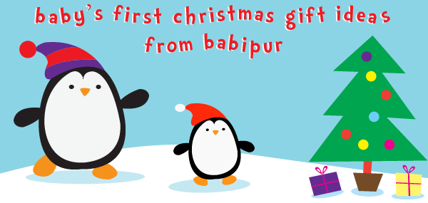 Gift ideas for baby's first Christmas