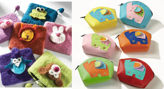 elephant purses t1 Ethical Stocking Filler ideas for young children