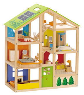 hape all seasons house Babi Pur Ethical Christmas Toy Guide 2014