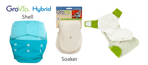 hybrid.fw  Cloth Nappy Review   Gro Via Hybrid