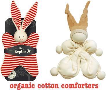Organic baby comforters