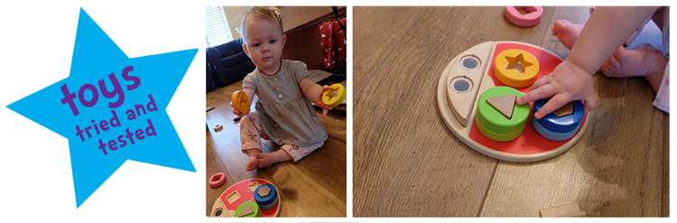 tried and tested hape ladybug.fw  Hape ladybird sorter review