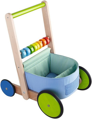 haba colour fun walker waggon