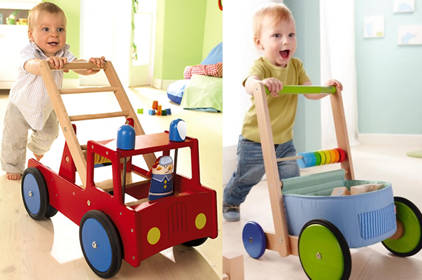 haba walker wagon fire brigade1 Haba Baby Walkers