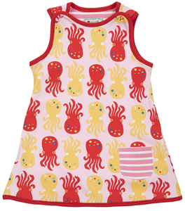 oc687 piccalilly octopus stripe reversable dress t
