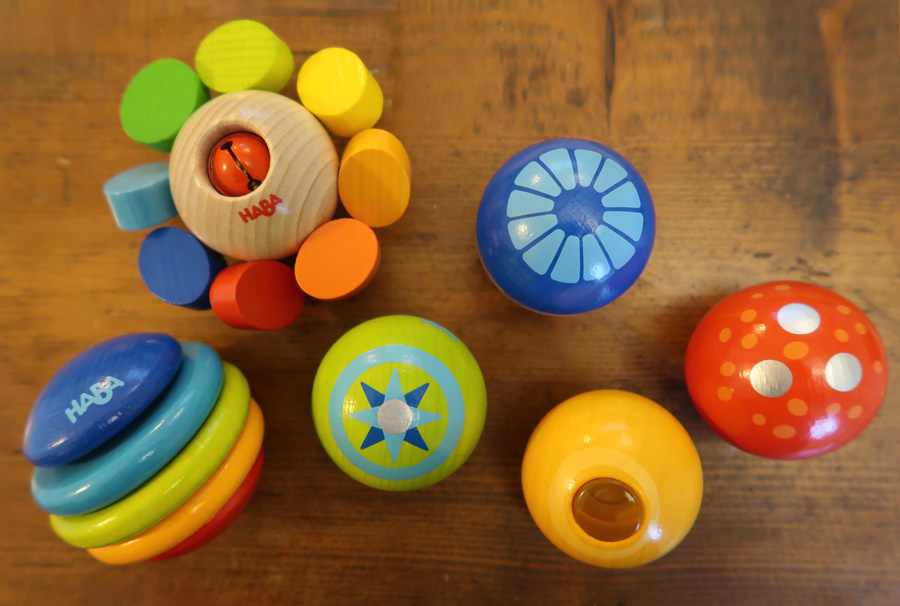 Haba clutching toys