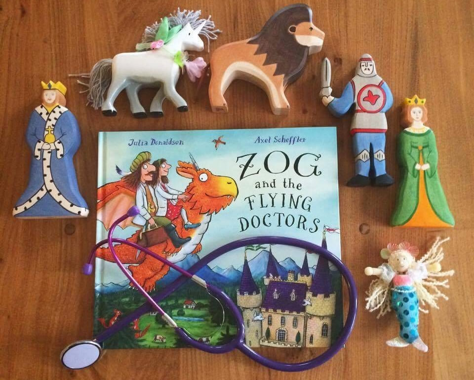 Zog and the flying doctors story sack