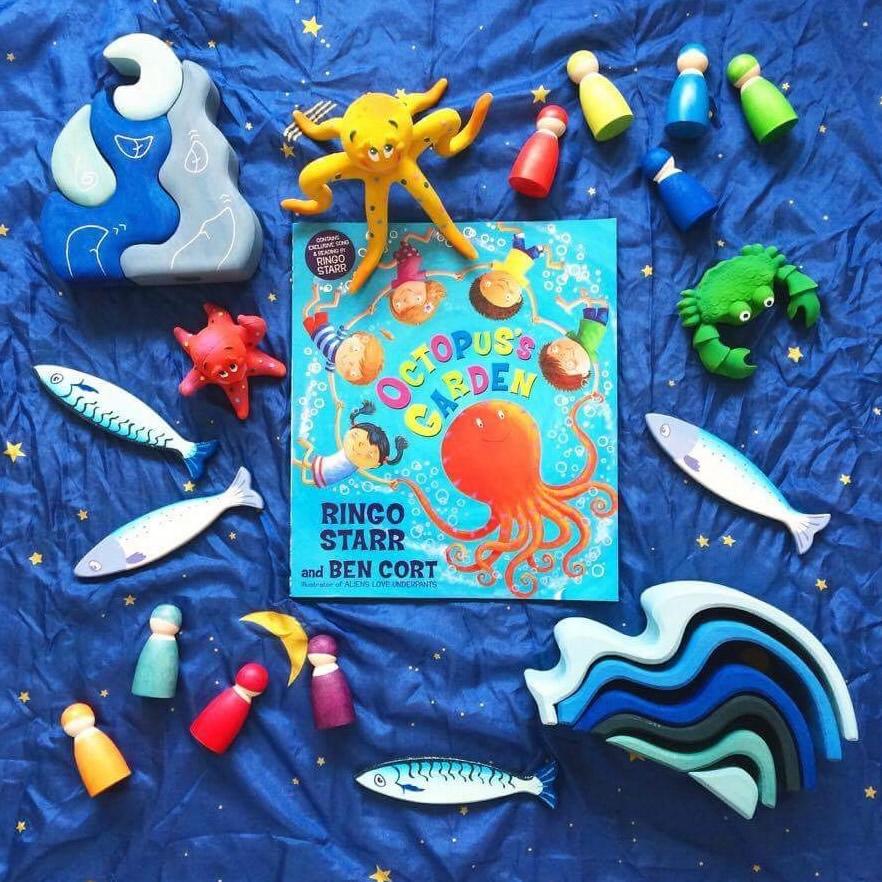 Octopus's garden story sack