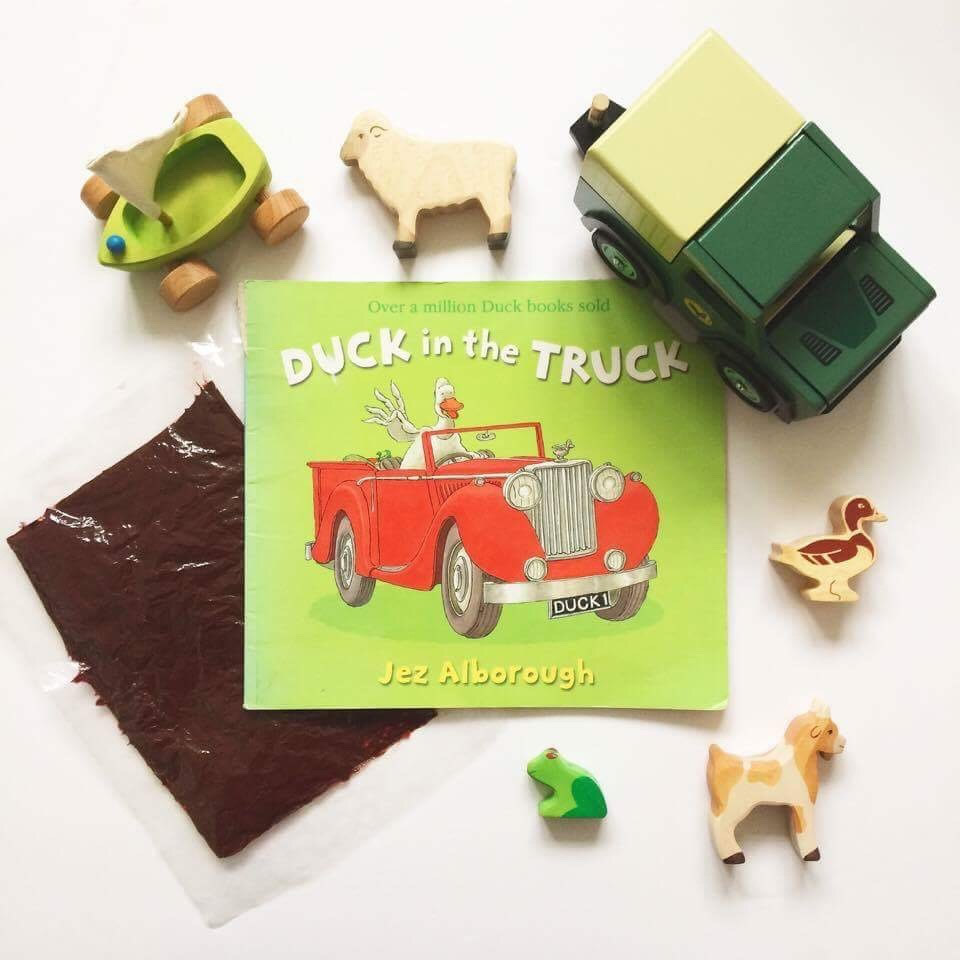 duck in the truck story sack