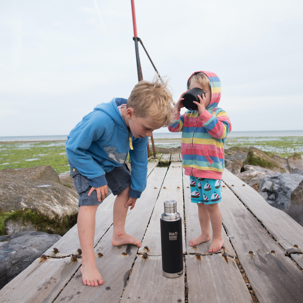 Klean Kanteen TK Pro is the perfect insulated flask for family days out