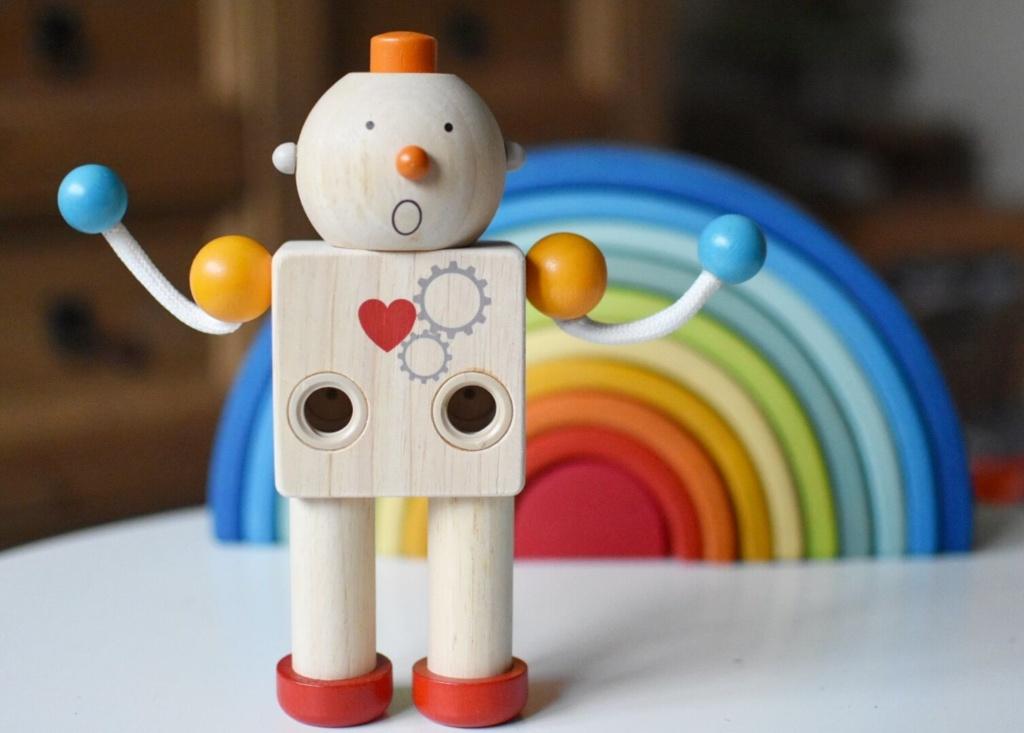 Plan Toys Build A Robot - BABI PUR