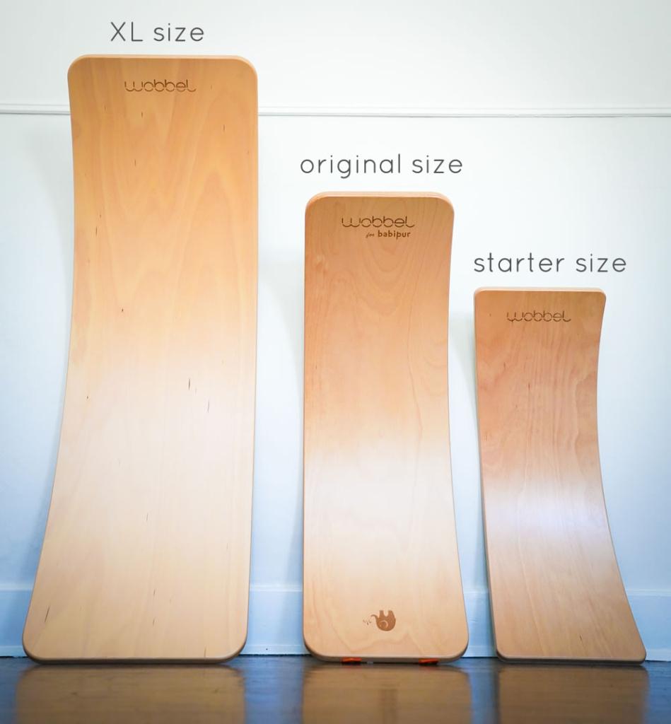 wobbel sizes